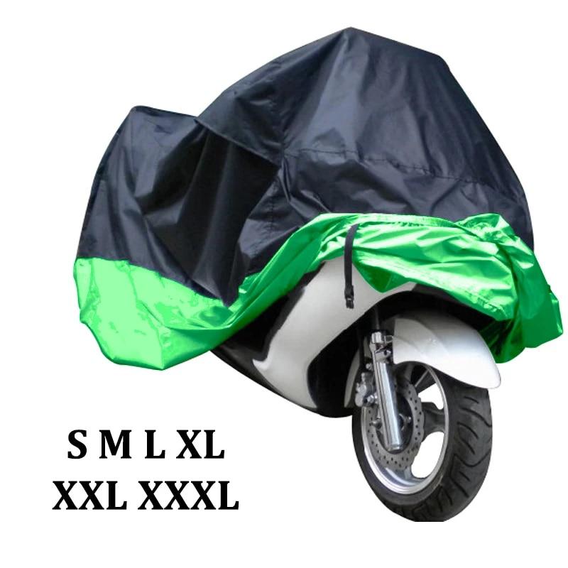L//XL//XXL Waterproof Motorcycle Rain Cover Motor Bike Scooter UV Rain Protector