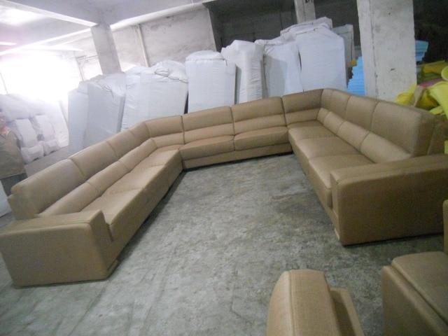 Leather Sofa/Living Room Sofa Furniture Set U Shape  6