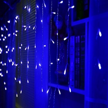 1pcs 4M 100LEDS 220v/110v AC LED string Holiday light for Strip ice bar lamp for party ,fairy,christmas,wedding,Free shipping
