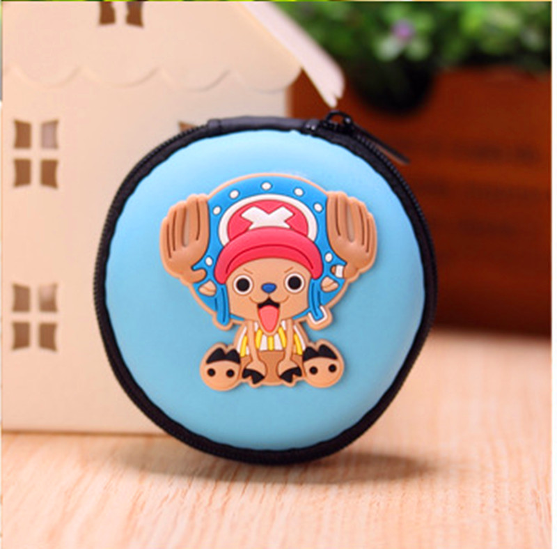 Casual Coin Purse Bags Of Cute Cartoon Silicone Hand Holding Water Proof Korean Headset Bag Keys Zero Female Free Shipping G04