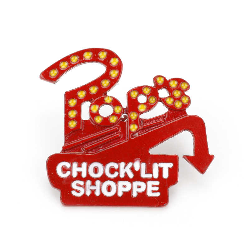 TV Series Enamel Pins Brooch Riverdale Pop's Chock'lit Shoppe Lapel Pin Gift for Women Men Button Clothes Bag Badges