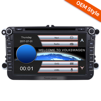 Seicane 8 Inch 2 Din Universal Radio For VW VOLKSWAGEN GPS Navigation With DVD Player Bluetooth