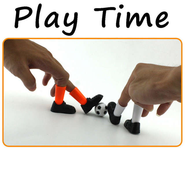 Ideal Party Finger Soccer Match Toy Funny Finger Toy Game Sets With Two Goals