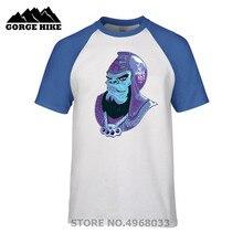 6557305f Funny Print Planet of Da Apes general urko T-shirt thug gangsta skateboard  knuckleduster tag
