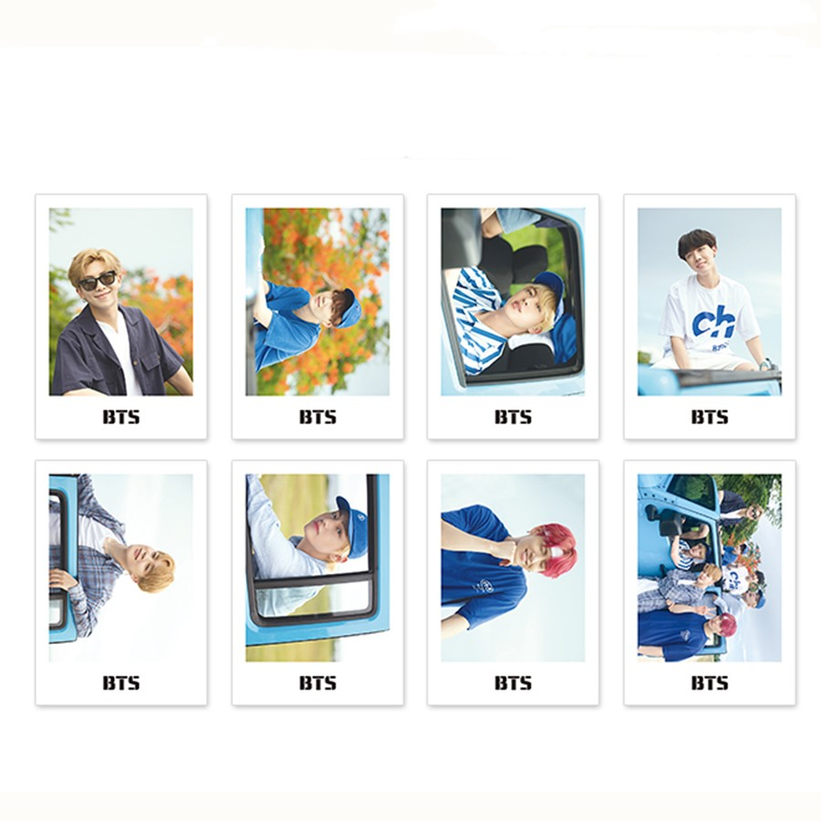 Jewelry Findings & Components Spirited Kpop Bts Love Yourself Answer Polaroid Photocards Bangtan Boys Paper Photo Cards Jimin Jungkook Collective Card 8pcs/set Utmost In Convenience