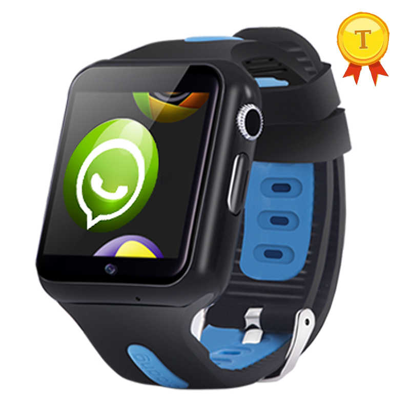 2018 New Children Smart Watch Phone WIFI 3G Kids Tracking GPS Watch With Touch Screen sim camera 16gb tf card for ios android