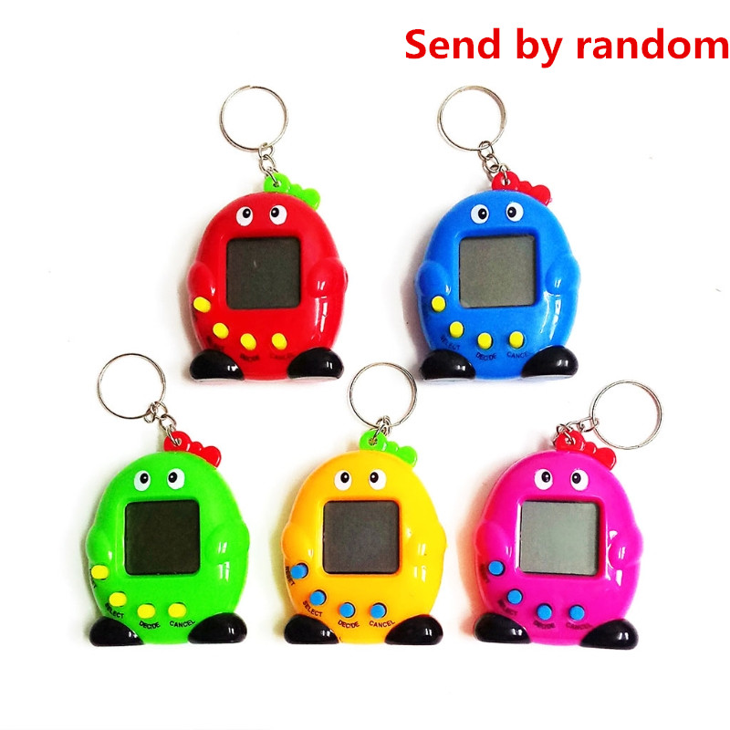 1PC Cute Penguin LCD Virtual Digital Pet Electronic Game Machine With Keychain Great Christmas gift for kids
