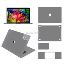 """Защитная виниловая наклейка для Apple Macbook Pro1"""" 15"""" A1932 A1707 A1706 A2159 верхняя/нижняя/сенсорная панель/защита экрана"""