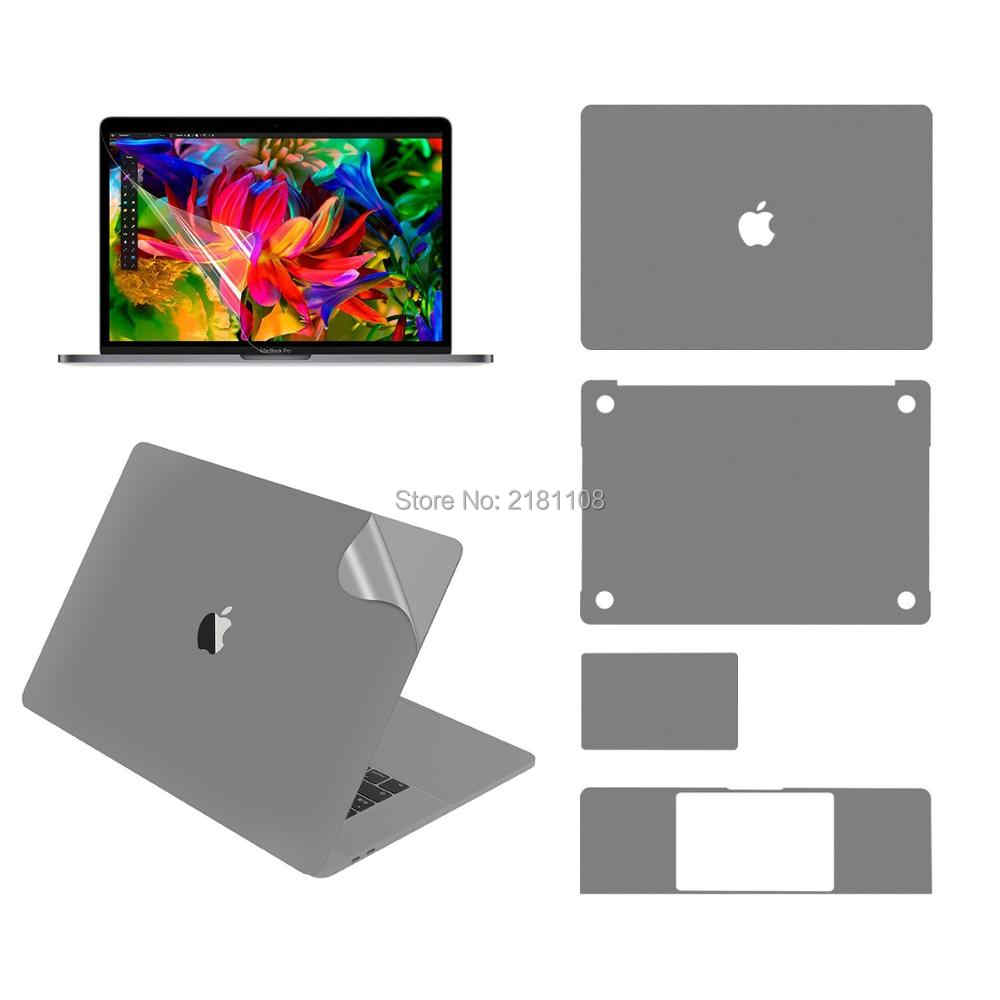 "Capa protetora do decalque do vinil para apple macbook pro13 ""15"" a1932 a2289 a2179 a2251 superior/inferior/touchpad/palmguard/protetor de tela"