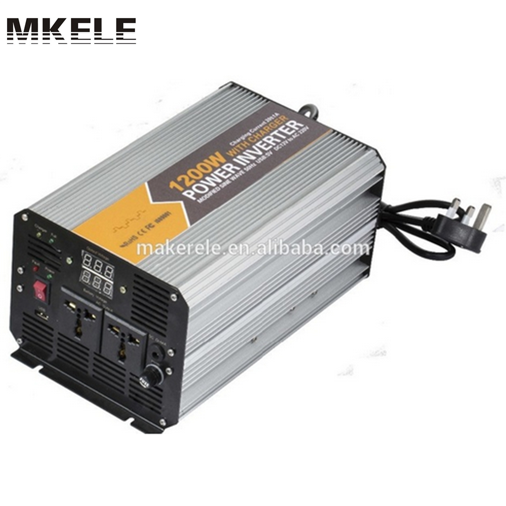 MKM1200-242G-C 1200watt dc ac 24v to 220v inverter modified sine wave travel power inverter with battery charger mkm2000 242g c modified sine wave professional dc ac 2000 watt power inverter 24v to 220v electrical inverters with charger
