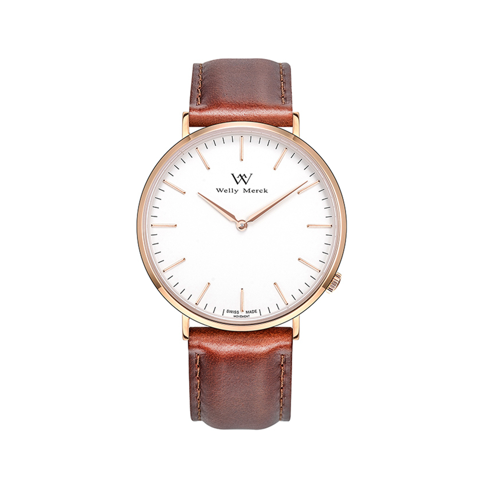 Welly Merck Fashion High quality Quartz Leather Wrist Bracelet Casual Women Watch Ladies Wristwatch free drop shipping 2017 newest europe hot sales fashion brand gt watch high quality men women gifts silicone sports wristwatch