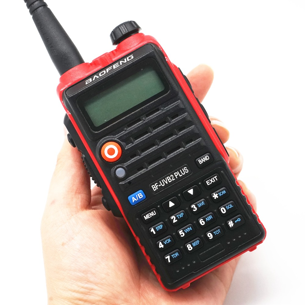 Image 4 - BaoFeng UV B2 Plus 8W High Power FM Transceiver 4800mah Battery BF UVB2 Plus for CB Radio Mobile Radio UVB2 Walkie Talkie Uv b2-in Walkie Talkie from Cellphones & Telecommunications