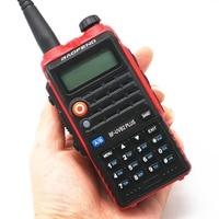 עבור baofeng Baofeng UVB2 פלוס 8W צריכת חשמל גבוהה FM משדר 4800mah סוללה BF-UVB2 פלוס עבור CB רדיו נייד רדיו UVB2 מכשיר הקשר (4)