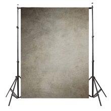 5x7ft 비닐 사진 배경 사진 배경, 레트로 콘크리트 벽