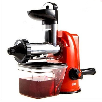 Multifunction home manual juicer fresh apple orange wheatgrass portable DIY juicer machine health kitchen tools