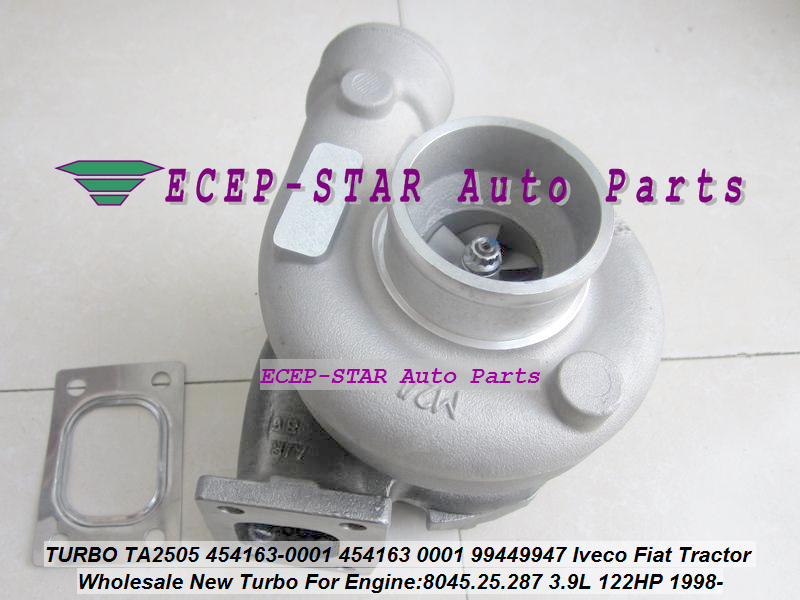 TA2505 454163-0001 454163 0001 4541630001 99449947 Turbo Turbocharger For Iveco For Fiat Tractor 8045.25.287 3.9L 122HP 1998-