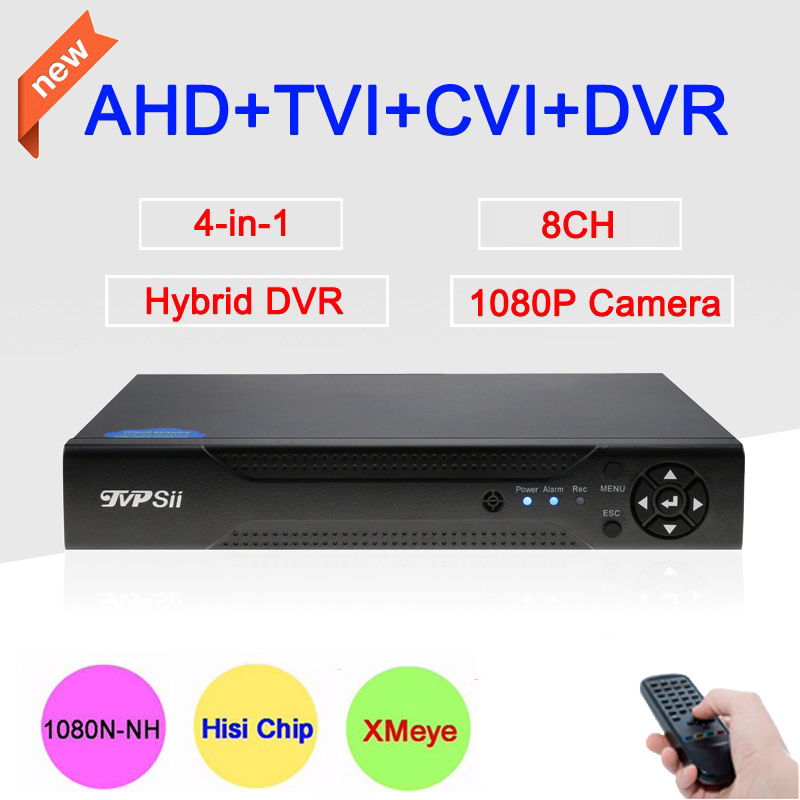 New Blue Case Three In One Dvr 4 Channel 4CH 1080P 960P 720P 960H Hisilicon Chip