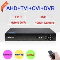 New Blue Case Three In One Dvr 4 Channel 4CH 1080P 960P 720P 960H Hisilicon Chip
