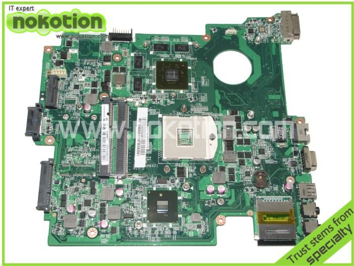MBTW806001 DA0ZR9MB8D1 for Acer 8572 8572G Laptop Motherboard DDR3 With NVDIA Video Card Full tested Mainboard warranty 60 days