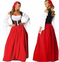 הגרמני פסטיבל הבירה פירטים לקחת תלבושת עוזרת שמלת ליידי ליל כל הקדושים קרנבל באר חדרניות בחורה הגרמנית אוקטוברפסט באר ילדה תלבושות