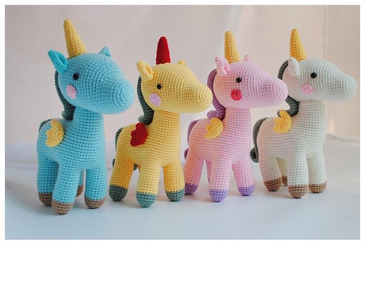 crochê animais de pelúcia artesanal brinquedo de malha