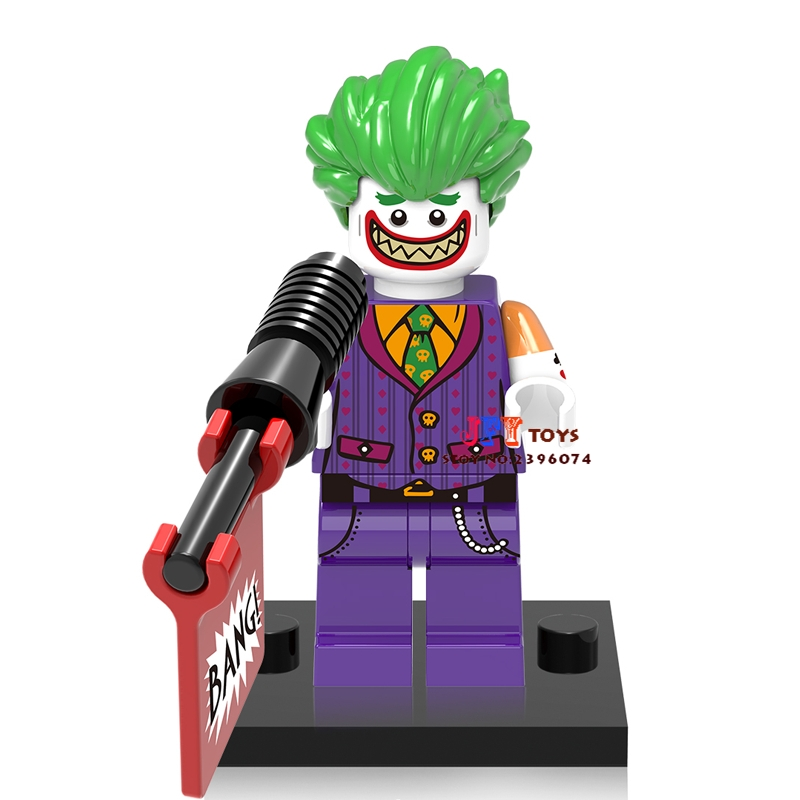 50pcs superhero building blocks XH547 Joker Comics bricks friends for girl Gift kids children toys brinquedos