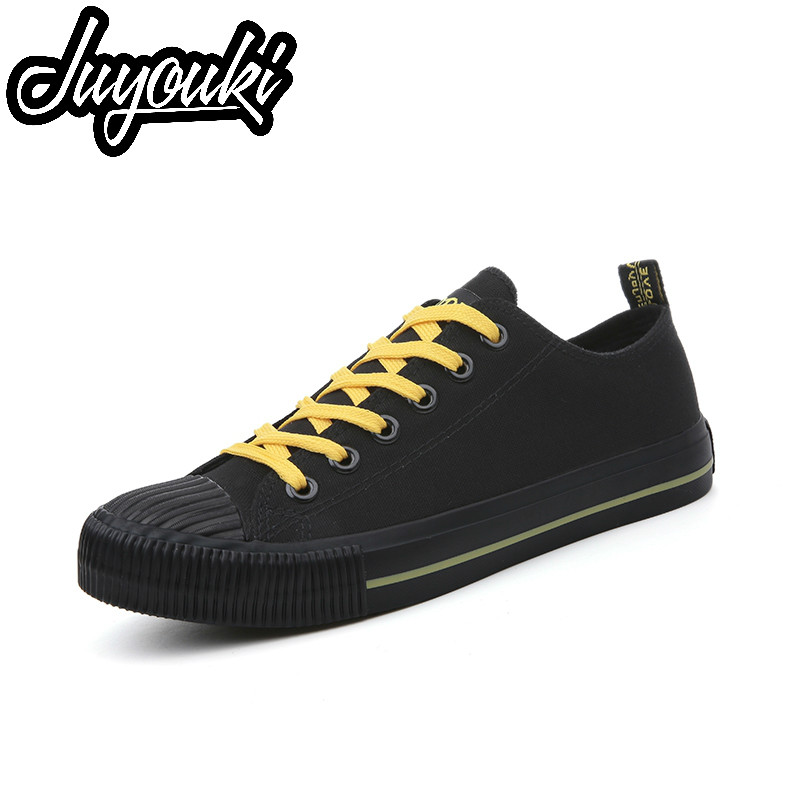 4fe4cae8eae Detail Feedback Questions about Juyouki New Fashion Canvas Shoes for Men  Casual Shoes Shell Toe Lace Up Boys Loafers Lazy Shoes Solt Flat Outdoor  Sport ...
