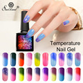 Saviland 1pcs Hot Sale Color Temperature Changing Nail Gel Lacquer Thermal Mood Change Soak Off UV/LED Nail Gel