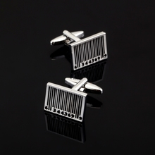 XK037 High quality men's shirts Cufflinks French wedding jewelry bar shape shirt Cufflinks other commodity bar