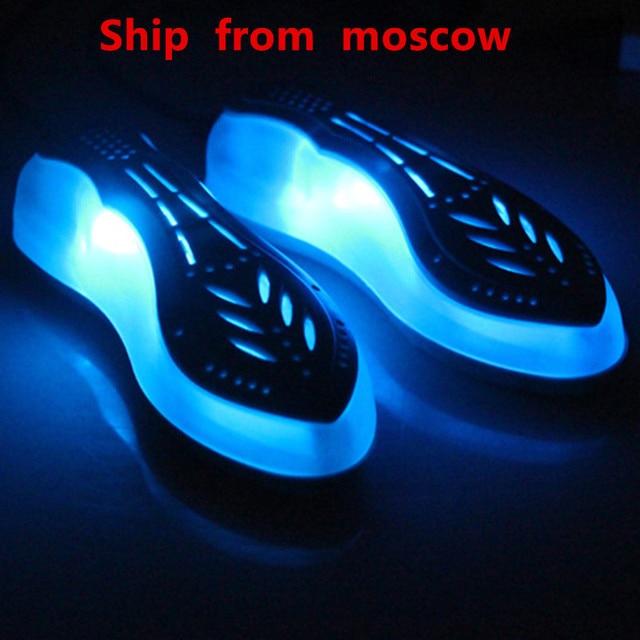 Electric 220V UV Shoe Dryer Ultraviolet Shoe Sterilizer Fast Heat Shoe Heater Boot Dryer Home Portable Shoe Heater
