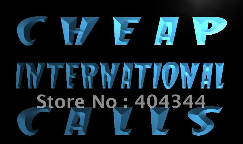 Lk999 cheap international calls phone led neon light sign for International home decor stores