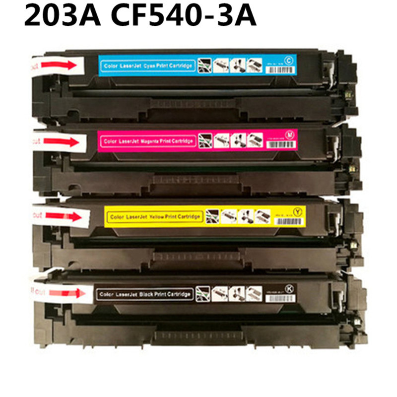 Remplacement de cartouche de Toner couleur 203A pour imprimante HP Color LaserJet Pro M254nw M254dw MFP M281fdw M281fdn M280nw M254 M280 M281Remplacement de cartouche de Toner couleur 203A pour imprimante HP Color LaserJet Pro M254nw M254dw MFP M281fdw M281fdn M280nw M254 M280 M281