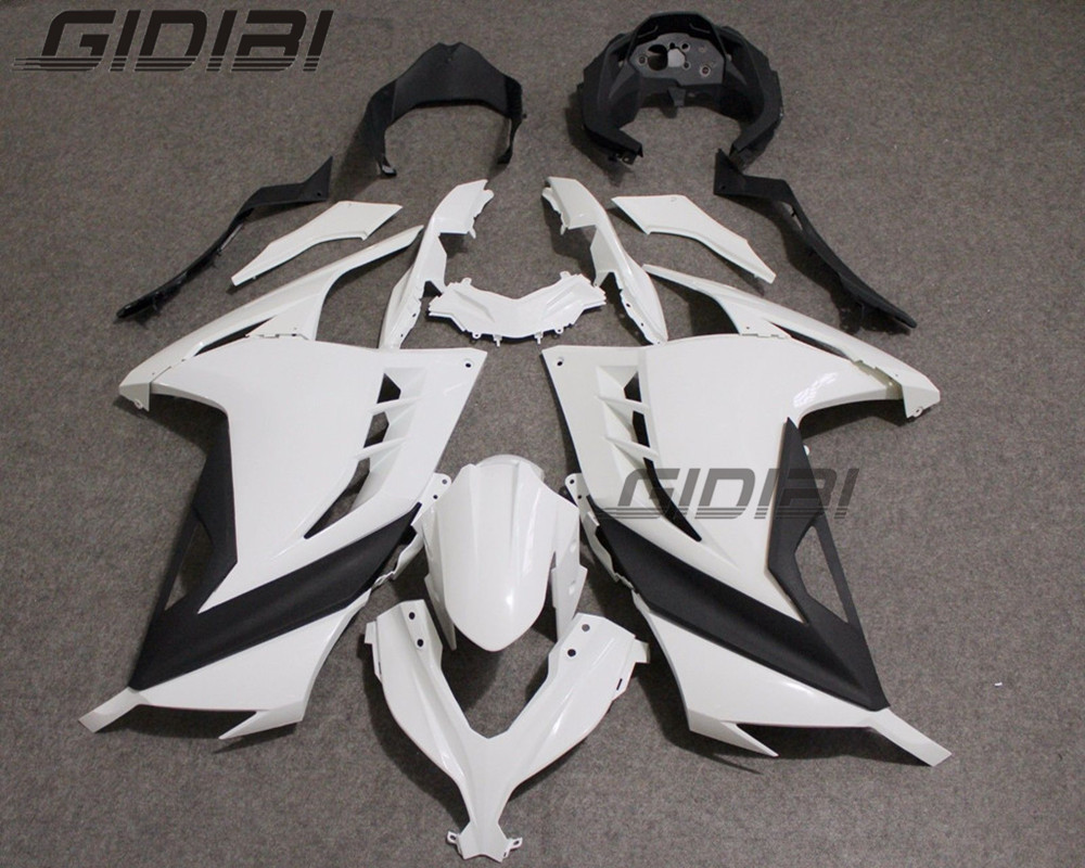 цена на Unpainted ABS Injection Mold Bodywork Fairing Kit For KAWASAKI NINJA250-300 NINJA 250 300 2013-2015 13 14 15 +4 Gift