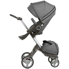 Baby Stroller High Landscape Folding Portable Baby Carriage For Newborns Luxury Prams For 0-3 Years Old 2017 babypanda store european baby stroller 3 in 1 high landscape fold strollers for children travel system prams for newborns