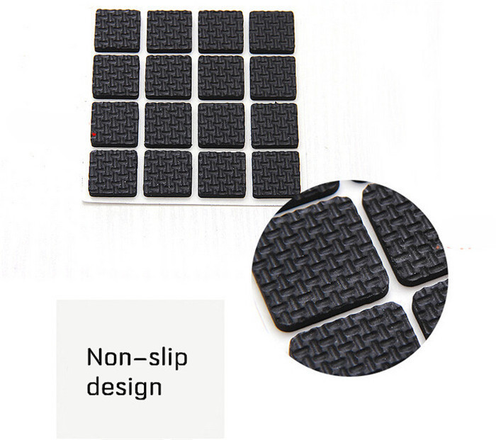 Round Square Trimming Mat Self Adhesive Table Chair Furniture Leg Pad Protector Cushion kitchen living room tools free shipping