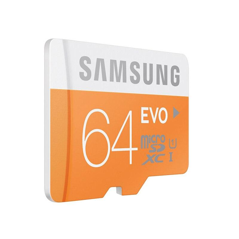 SAMSUNG Micro SD Memory Card 64GB 32GB 16GB MicroSD Cards SDHC SDXC Max 48M/s EVO C10 TF Trans Flash Mikro Card