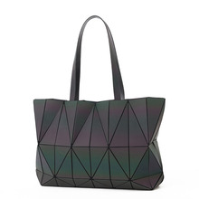 Geometric Tote Bags for Women 2018 Shoulder Bag Shopper Luxury Handbags Designer Summer Female Korean Style