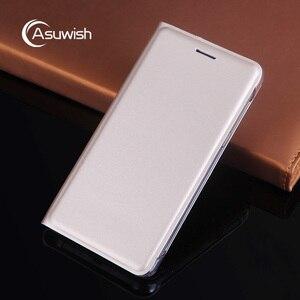 Image 1 - Funda de cuero con tapa para Samsung Galaxy Grand Prime SM G530 G531 G530H G531H G531F SM G530H, tarjetero