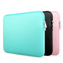 11 12 13 14 15.6 inch sleeve laptop case for MacBook Air Pro Ultrabook Notebook Tablet computer Portable Soft Zipper bag