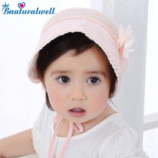 4b1c6573b82e9 Bnaturalwell filles Bonnet rétro bébé Chapeau Chapeau nordique Vintage  dentelle enfant en bas âge Bonnet coton