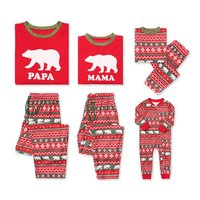 New Year Family Christmas Pajamas Family Matching Outfit Father Mother Daughter Girl Boy Clothing Sets Pyjamas Family Look CA490 Family Matching Outfits
