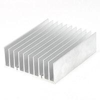 120mm x 45mm x 150mm Disipador de calor de Aluminio de Disipación de Calor de la Aleta de Enfriamiento