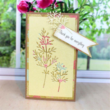 Eastshape Leaves Dies Metal Cutting for DIY Scrapbooking Bud Die Cut Embossing Card Making Album Paper Craft New 2019