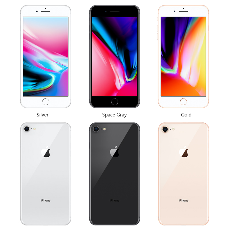 Image 2 - Unlocked Apple iphone 8 64G/256G ROM Wireless charge iOS Hexa core Fingerprint A11 Bionic Fingerprint mobile used smart phone-in Cellphones from Cellphones & Telecommunications