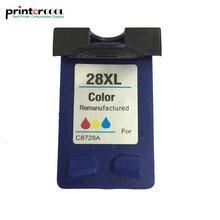 einkshop 28xl Refilled Ink Cartridge Replacement for HP 28 xl Deskjet 5550 3420 3520 3550 3650 3740 3845 3535 450 450CI Printer