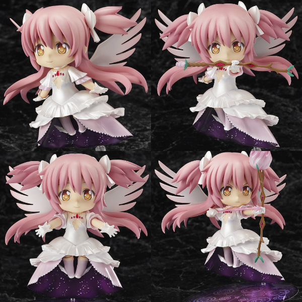 Puella Magi Madoka Magica Kaname Wing Dress GOD Angel Nendoroid 285 10CM PVC Action Figure Doll Toys C087 In Toy Figures From Hobbies