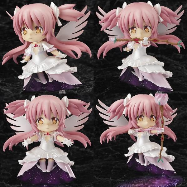 Puella Magi Madoka Magica Kaname Wing Dress GOD Angel Nendoroid 285 10CM PVC Action Figure Doll Toys C087