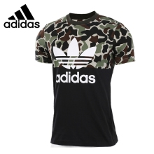 Original New Arrival 2017 Adidas Originals S/S CAMO COLOR Men's T-shirts short sleeve Sportswear(China)