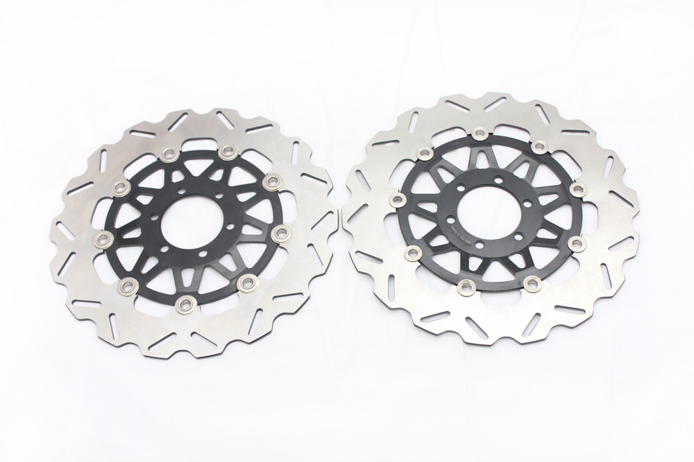 Motorcycle Front Brake Disc Rotors For Yamaha FZR 400 RR 92/FZ 400  96/FZR 400  89  Universel brand new motorcycle rear brake disc rotors for yamaha 250 3mai 89 fz400 4yr1 96 fzr400 89 92 universel