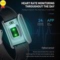Водонепроницаемый Фитнес-трекер  часы с пульсометром  монитором артериального давления и сна  Bluetooth  Смарт-часы  спортивные умные часы  акти...